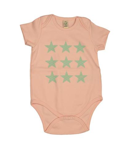 Body Stern rosa/grün – Bild 1