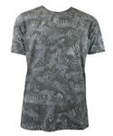 T-Shirt Brandenburger Tor/Fernsehturm Camouflage kaki 001
