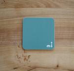 Coaster/Untersetzer mit Berlinmuster grün 001