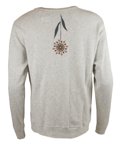 This City Rocks Sweatshirt Blumen hell-grau – Bild 2