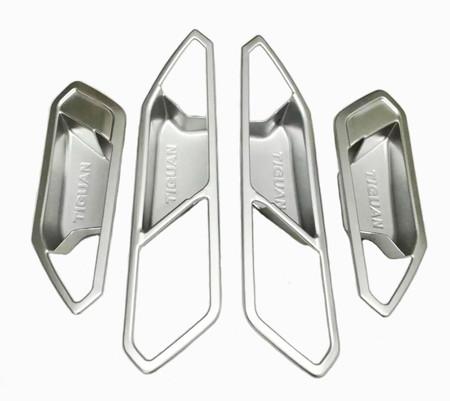 Chrom Türgriffmulden Türgriff Blenden innen VW Tiguan II – Bild 2