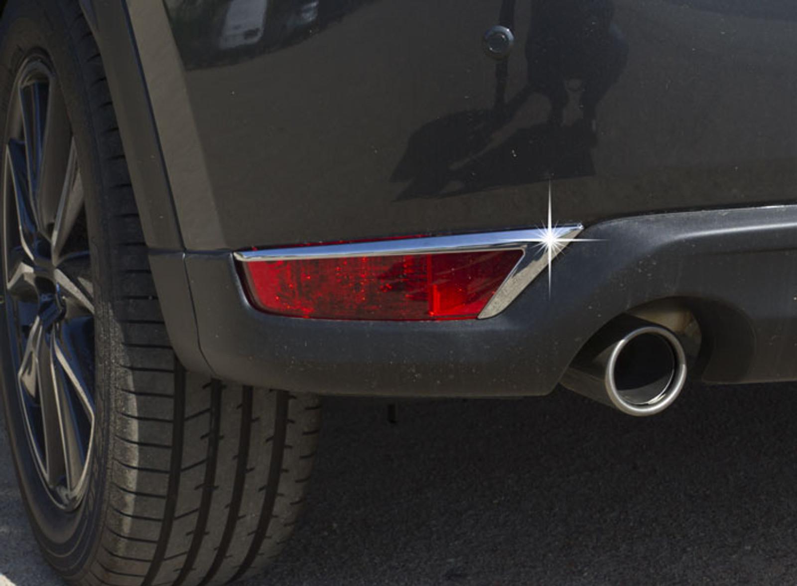 Heck Reflektoren Chrom Blenden TUNING für Mazda CX-5 NEU KF