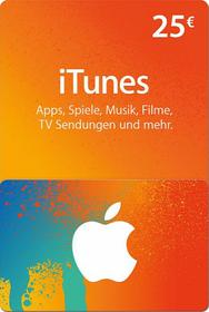 iTunes Karte (DE) 25 Euro Code