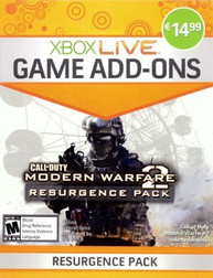 Modern Warfare 2 : Resurgence Package - Xbox 360 Live Game Add-On