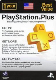 PlayStation Network Plus 12 Monate Mitgliedschaft (US)