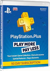 PlayStation Network Plus 3 Monate Mitgliedschaft (UK)
