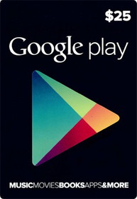 Google Play Card Wert 25 USD