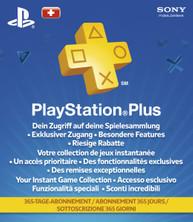 PlayStation Network Plus 12 Monate Mitgliedschaft (CH)