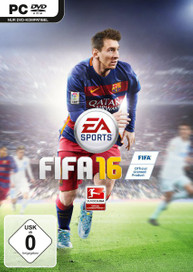 FIFA 16 (PC) incl. 15 FUT Standard Gold Packs - CD Key