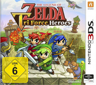 The Legend of Zelda: TriForce Heroes (3DS) - Game Code
