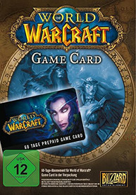 World of Warcraft 60-Tage Card