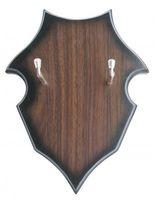 Holzwandplatte zum Aufhängen von Schwertern