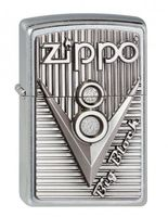 Zippo Briquet #207 V 8 Zippo Emblem