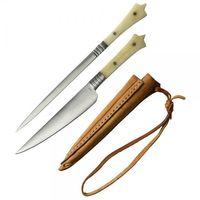 Haller Mittelalterliches Set Messer und Spieß Nr. 80479