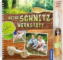 """Opinel Kindermesser inkl. Buch """"Meine Schnitzwerkstatt"""""""