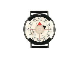 SUUNTO M-9 Armband-Peilkompass, 360-Grad-Einteilung, drehbare Kapsel, Klett-Band, Kunststoffschließe
