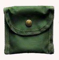Linder Nylon-Etui universal, dunkelgrün, 70 x 65 x 35 mm