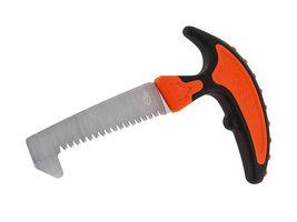 Gerber Vital Knochensäge, Stahl SK5, Spezialzahnung, schwarz-orangefarbener Kunststoffgriff, Nylonetui