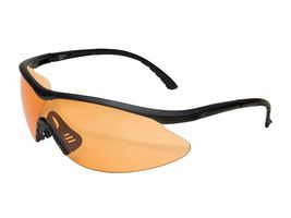 Edge Tactical Safety Eyewear, Fastlink, matt schwarz, antikratzbeschichtet, beschlagfreie Tiger`s Eye Vapor Shield
