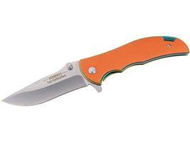 Herbertz TOP Collection Einhandmesser, Stahl AISI 440, Liner Lock, Flipper, Daumenpins, G10 Schalen, Etui , Box