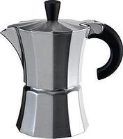 gnali & zani Morosina Espressokocher, 1 Tasse, Alu