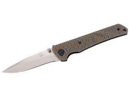 Puma Tec Einhandmesser, Stahl D2, Rostträge, Daumenpins, Liner