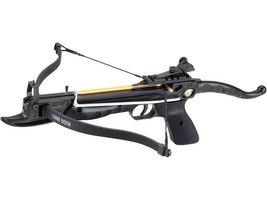 Ek-Archery Armbrustpistole Cobra, Zuggewicht 36,3 kg(80lbs.) schwarzer Aluminiumkörper, verstellbares Visier, 3 Bolzen