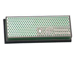 DMT Benchstone Diamantschärfer,grün/extrafeine Körnung(1200) trocken oder mit Wasser verwendbar, Kunststoffständer/-Box