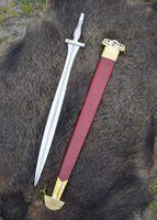 Griechisches Schwert aus Alfedena, mit Knochengriff