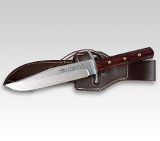 Linder BOWIE-Messer, 440C Cocobolo, formgefräst 25cm