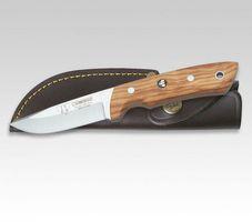 Cudeman CUSTOM-Messer, Olivenholzschalen, 9 cm