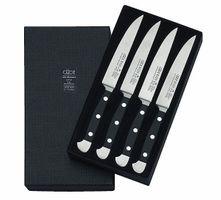 5 Couteau a steak Serie Alpha Longueur: 12cm en emballage-cadeau de Güde