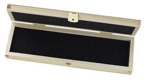 Holzschatulle für Taschenmesser, mit Schaumstoffeinlage