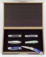 Haller Mini-Taschenmesserbox, 420 Stahl, Klingen 2,5 cm