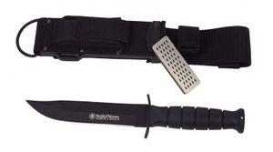 Smith & Wesson Search & Rescue, 440C-Klinge: 15 cm