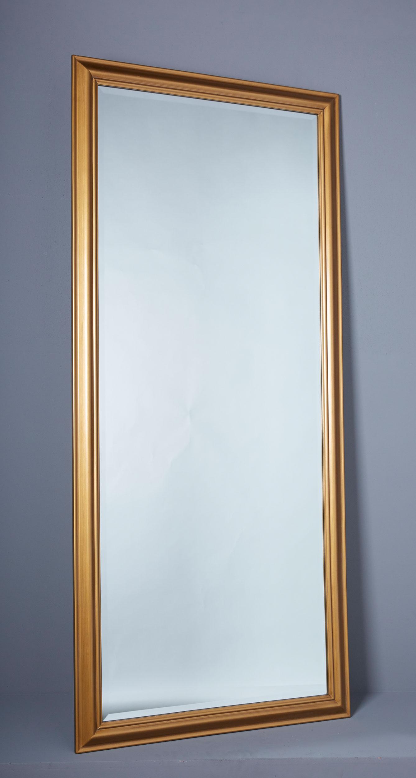 spiegel wandspiegel 180 x 80 cm gold eleganter landhaus stil shabby chic 7426814417965 ebay. Black Bedroom Furniture Sets. Home Design Ideas