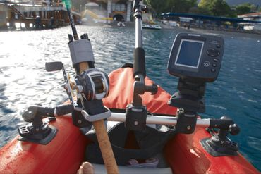 Fasten Rutenhalter Angelrutenhalter Bootsrutenhalter für Angler auf Booten Bootsport