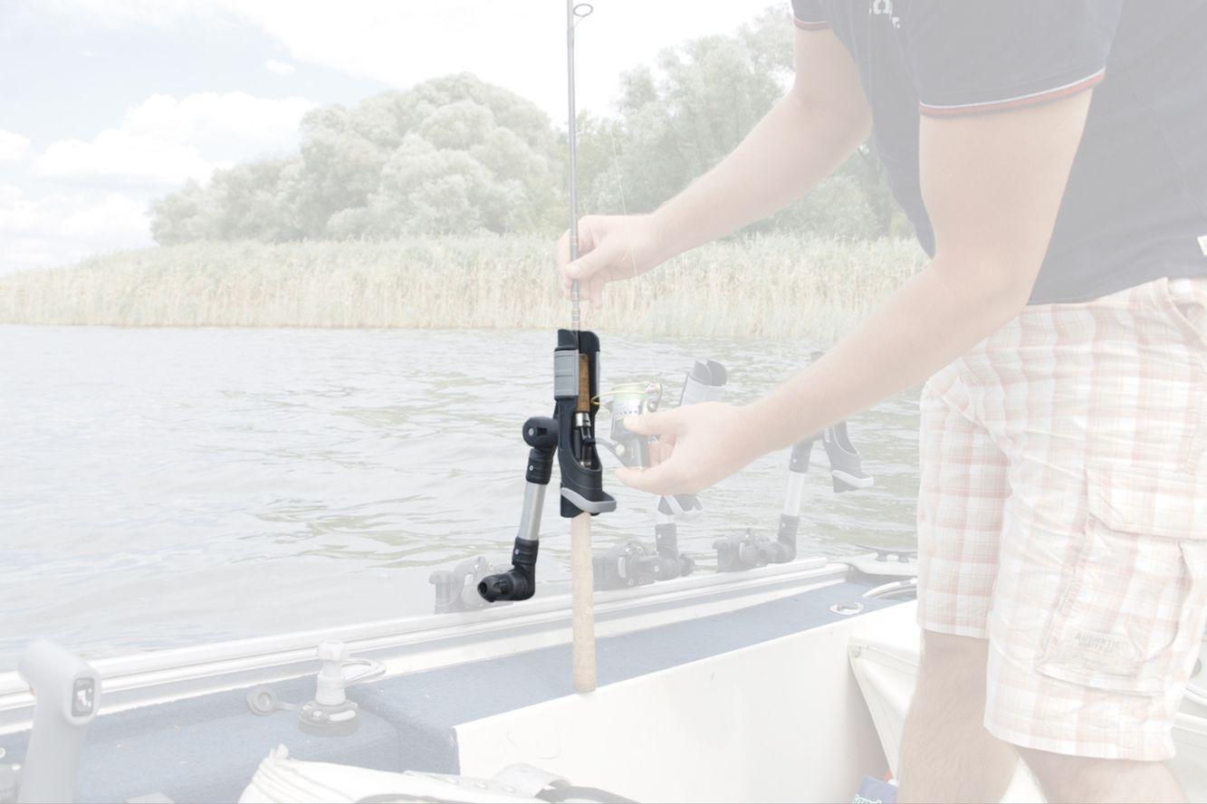 /Ø25 Fasten Set Rutenhalter Verl/ängerung Bootsrutenhalter Boot 225 mm