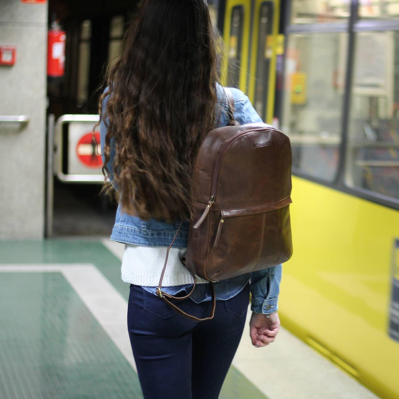 Echtleder Damentasche