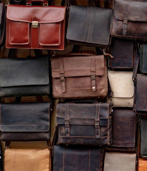 Leder Tasche Vintage