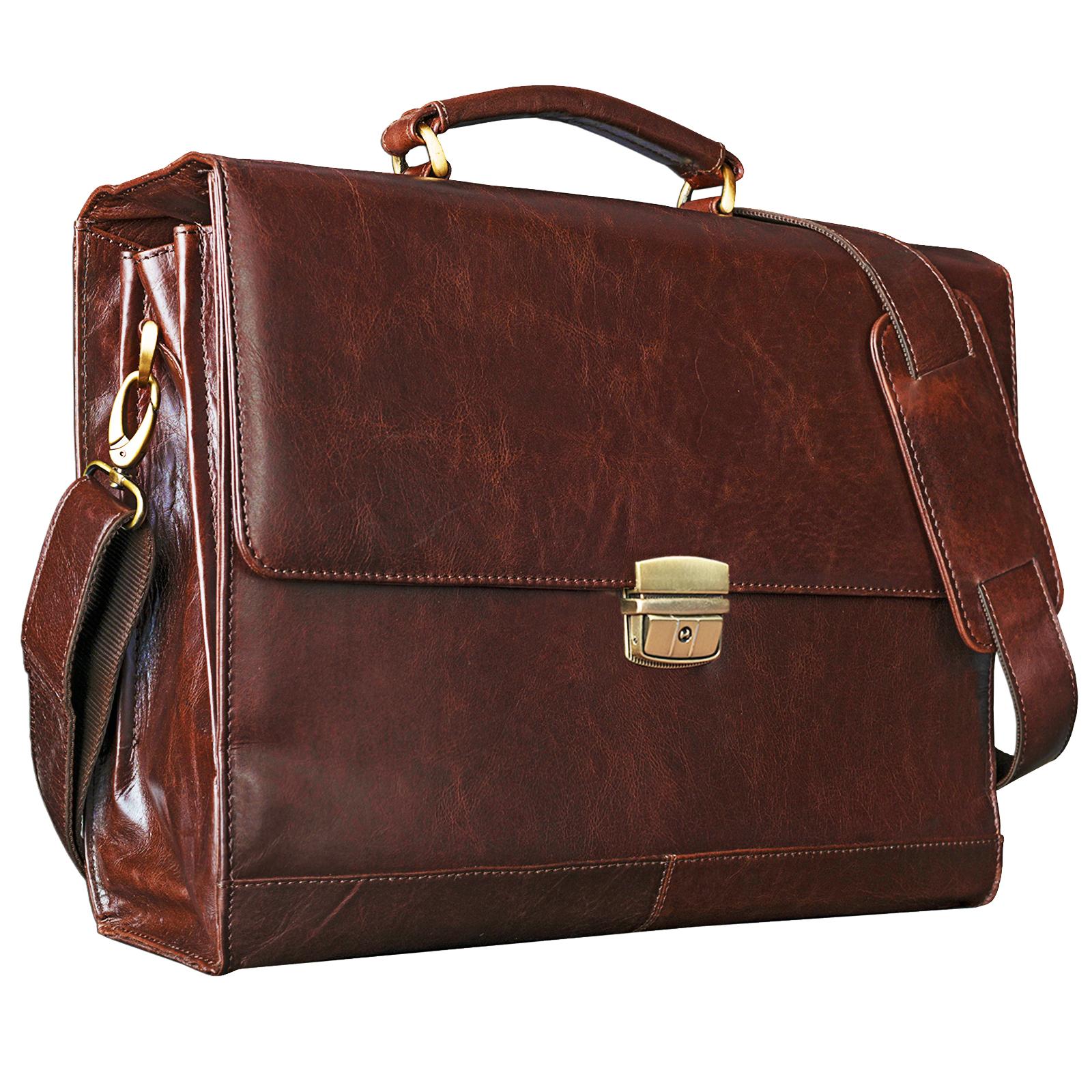 Leder Bürotasche