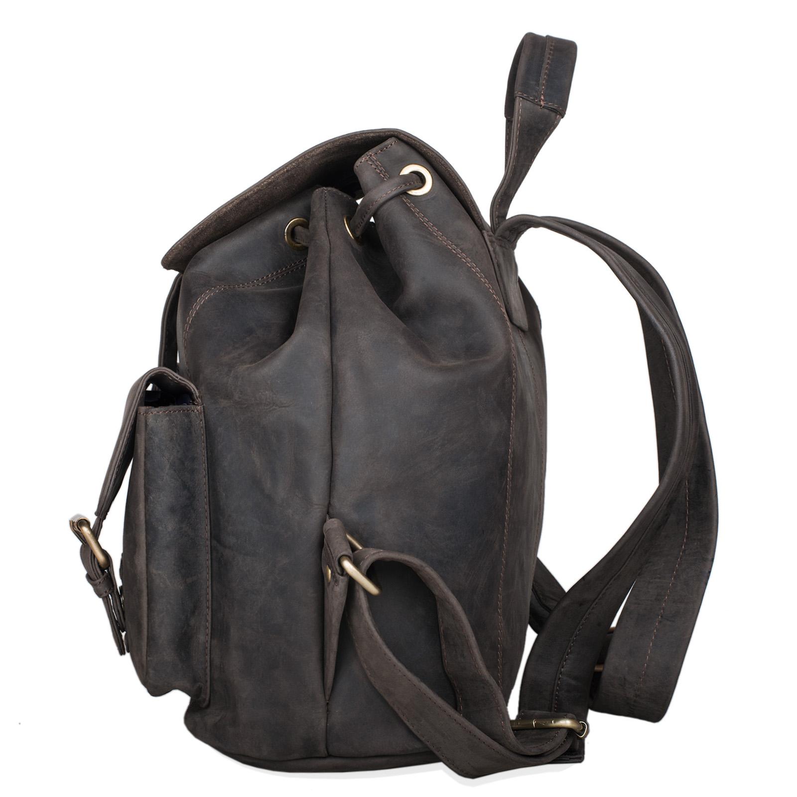 "STILORD ""Larissa"" Vintage Rucksack Leder Damen Rucksackhandtasche Lederrucksack Handtasche DIN A4 City Shopping Daypack Schule Uni - Bild 16"