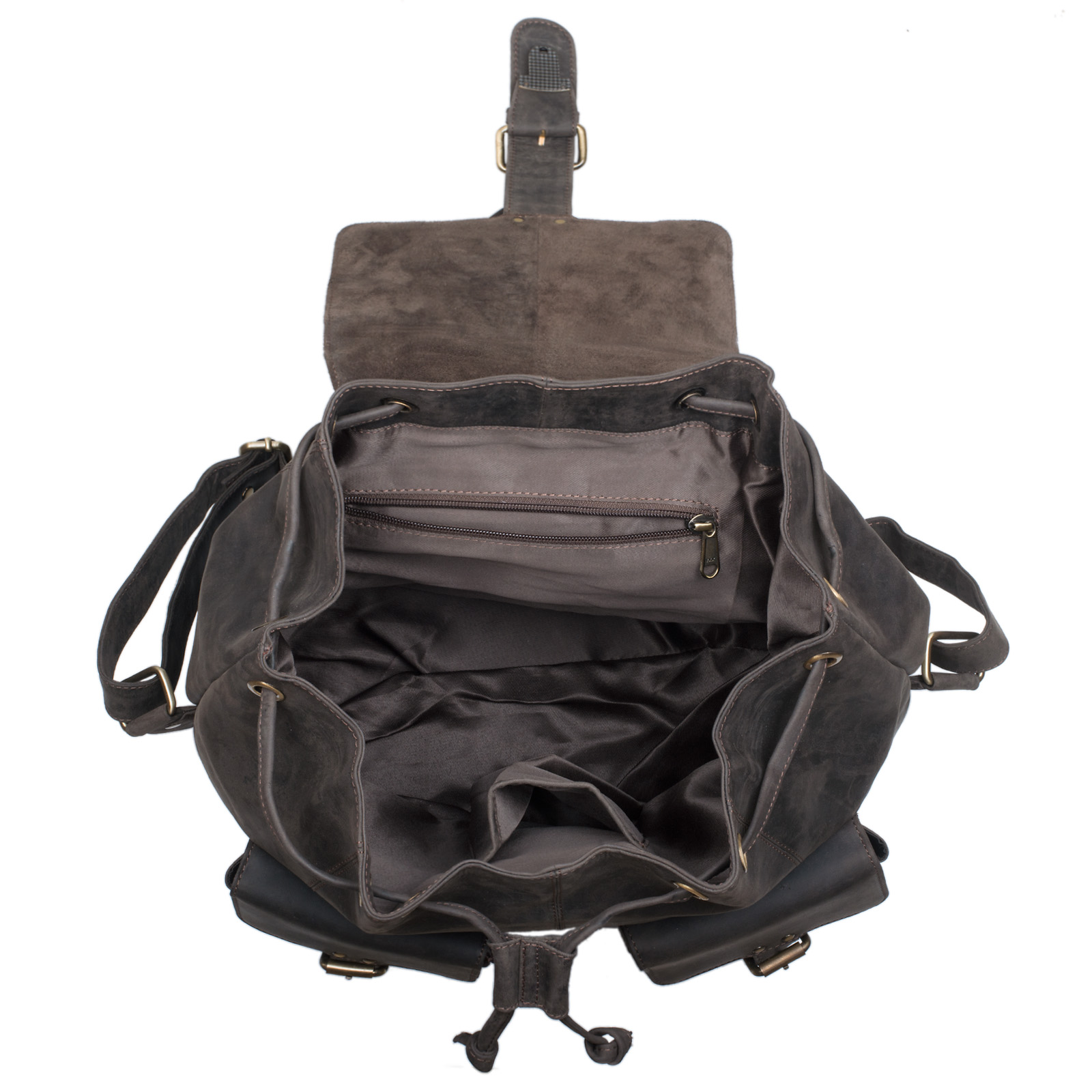 "STILORD ""Larissa"" Vintage Rucksack Leder Damen Rucksackhandtasche Lederrucksack Handtasche DIN A4 City Shopping Daypack Schule Uni - Bild 15"