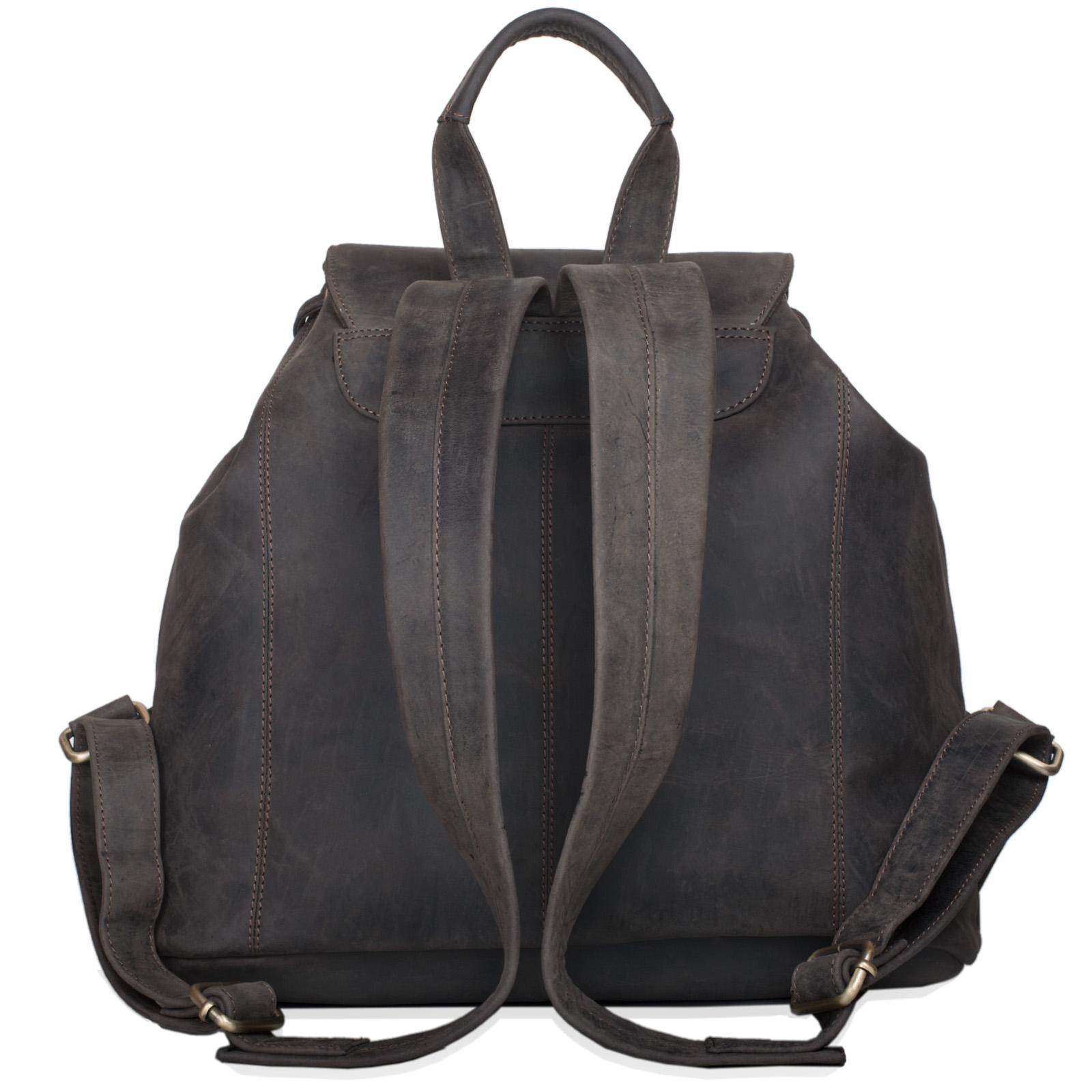 "STILORD ""Larissa"" Vintage Rucksack Leder Damen Rucksackhandtasche Lederrucksack Handtasche DIN A4 City Shopping Daypack Schule Uni - Bild 17"