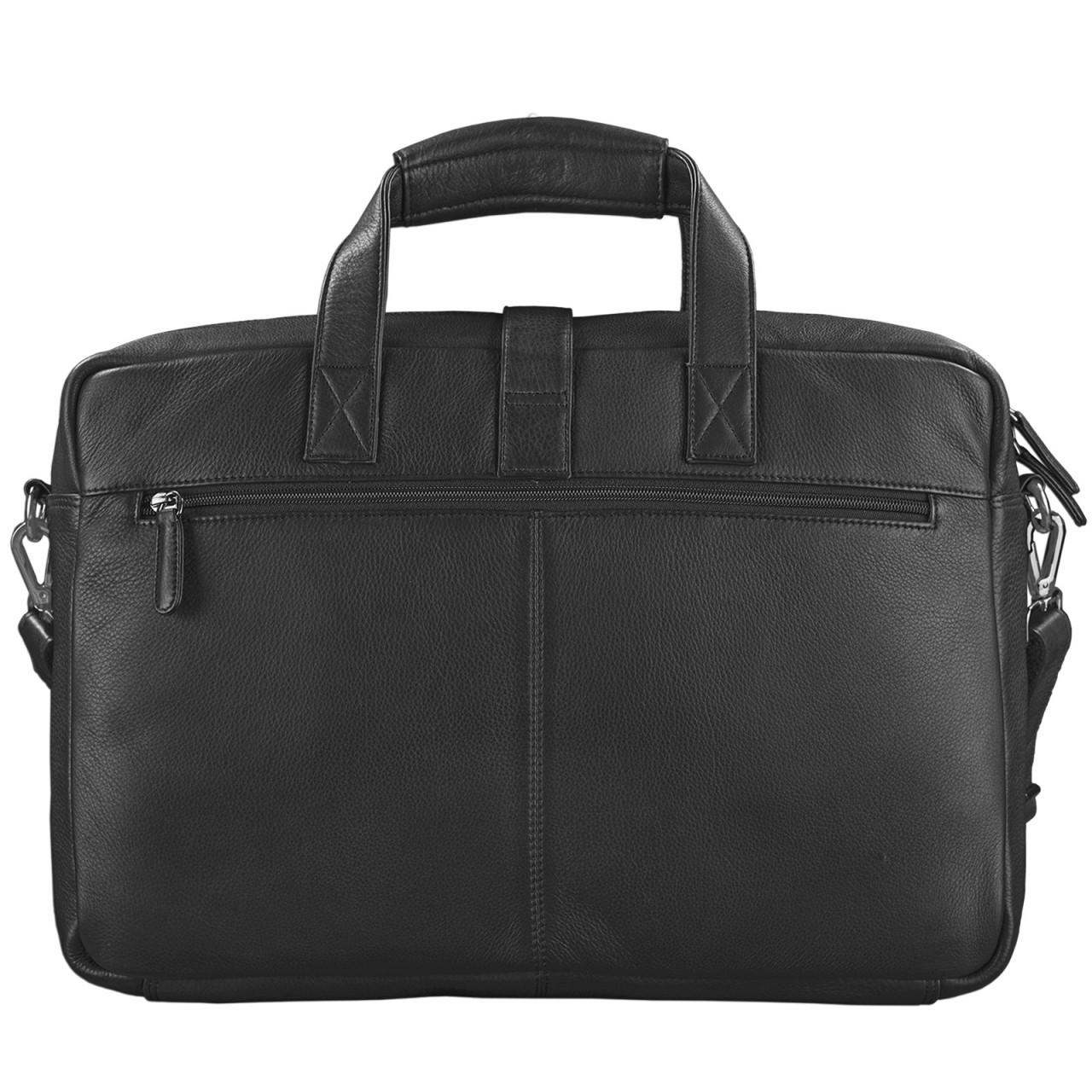 """STILORD """"Michael"""" Lehrertasche Leder Vintage Leder Laptoptasche 15,6 Zoll groß Büro Uni Herren Damen Rindsleder - Bild 19"""
