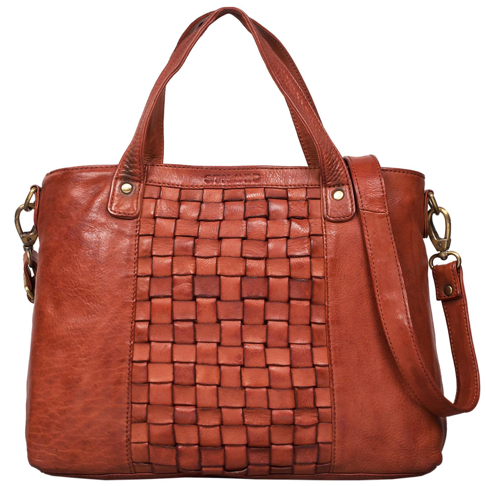 """STILORD """"Mara"""" Elegante Handtasche geflochtenes Leder mit abnehmbaren Schulterriemen Abendtasche Ausgehtasche Echtleder - Bild 16"""