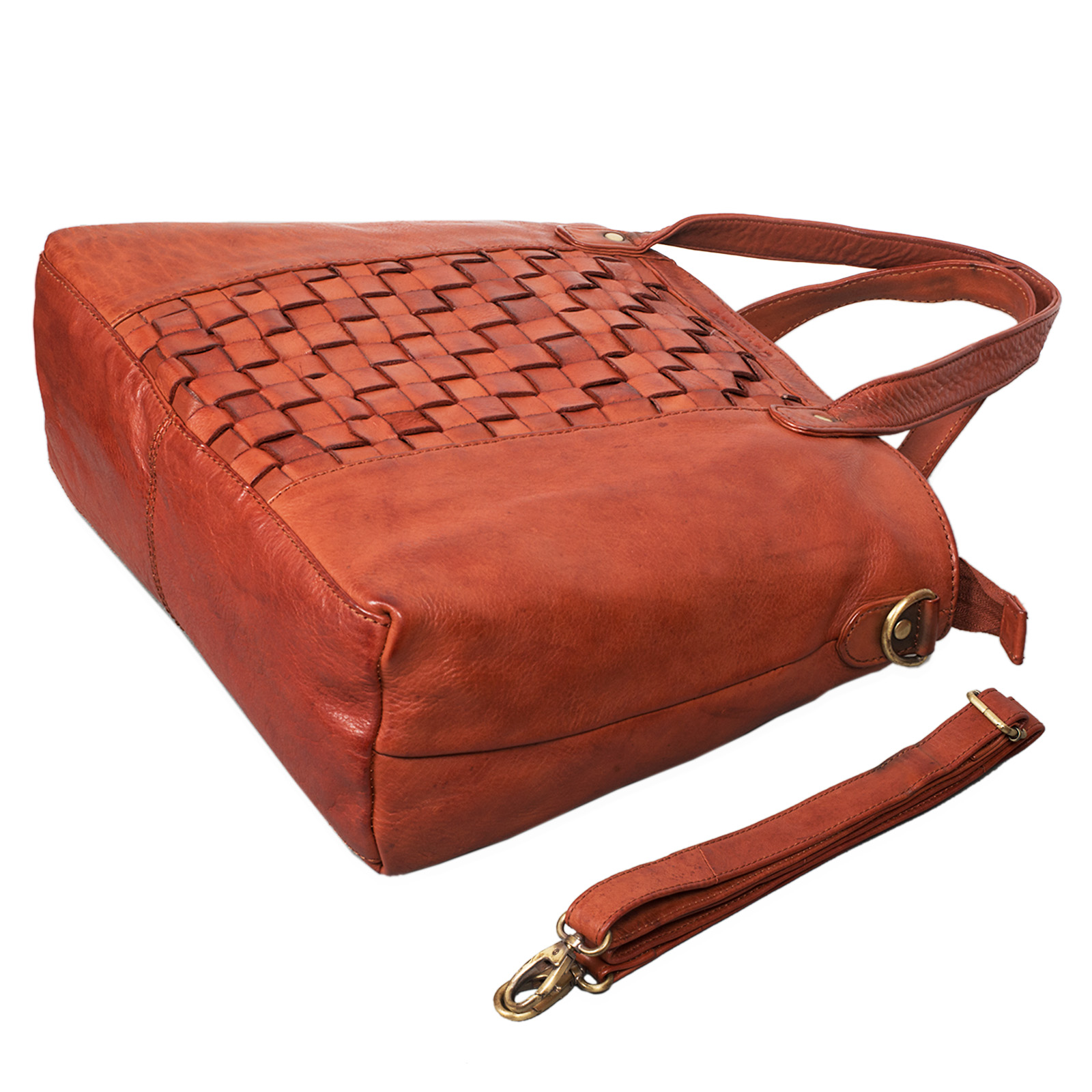 """STILORD """"Mara"""" Elegante Handtasche geflochtenes Leder mit abnehmbaren Schulterriemen Abendtasche Ausgehtasche Echtleder - Bild 20"""