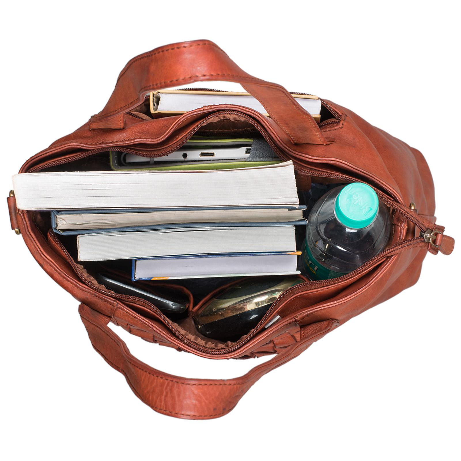"""STILORD """"Mara"""" Elegante Handtasche geflochtenes Leder mit abnehmbaren Schulterriemen Abendtasche Ausgehtasche Echtleder - Bild 17"""
