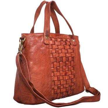 """STILORD """"Mara"""" Elegante Handtasche geflochtenes Leder mit abnehmbaren Schulterriemen Abendtasche Ausgehtasche Echtleder – Bild 15"""