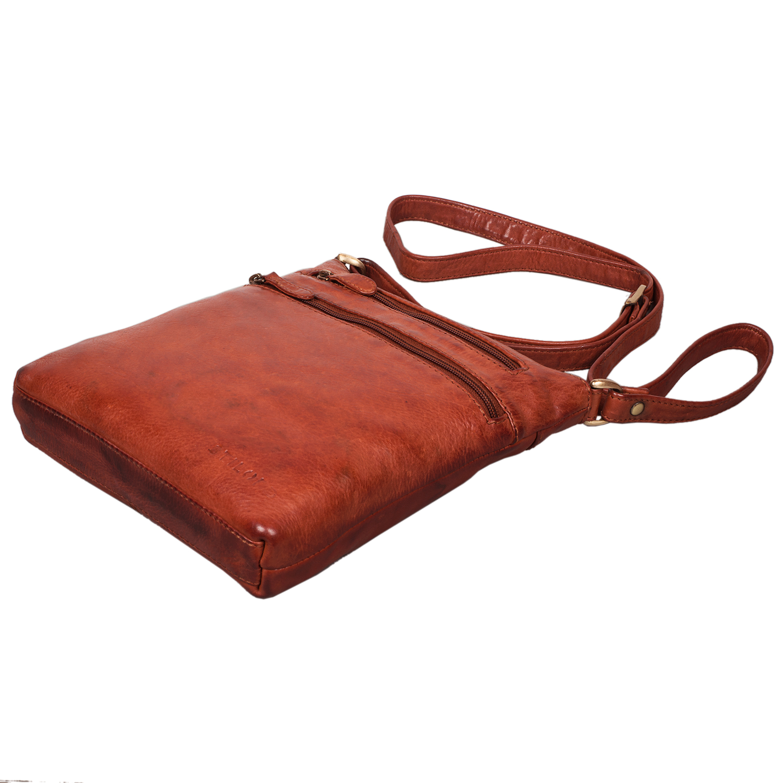 Vintage Handtasche Damen echtes Leder
